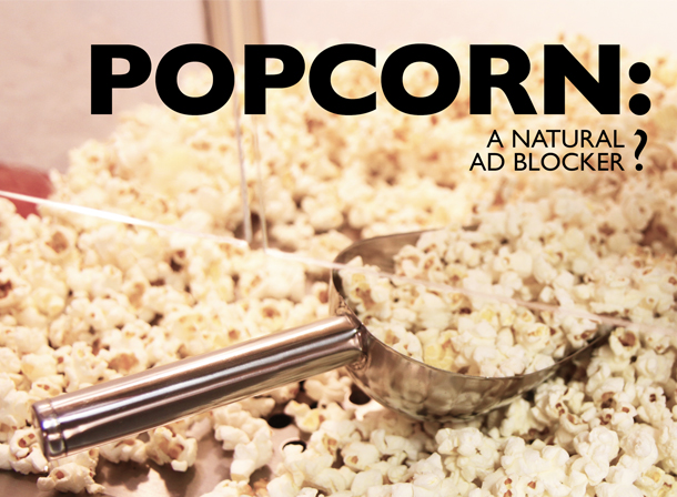 Chocolate Fountain Warehouse Popcorn - a Natural Ad Blocker